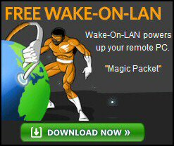 Review Solarwinds Wake-On-LAN Gadget