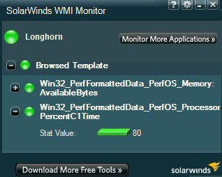 Review of Solarwinds WMI Monitor