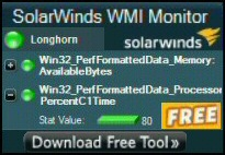 Solarwinds Free WMI Monitor for PowerShell