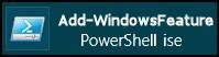 Add-WindowsFeature PowerShell 3.0