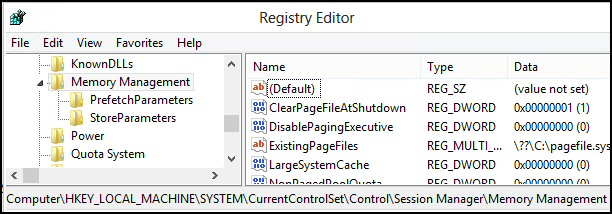 Group Policy Shutdown Clear Page File At Shutdown