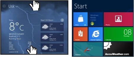 Windows 8 Close App