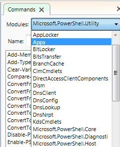 Microsoft Windows 8 PowerShell