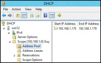 Add-DHCPServerV4Scope PowerShell DHCP Scope