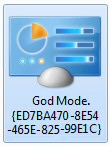 Windows 8 God Mode