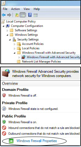 Windows 8 Firewall with Advanced Security
