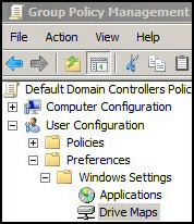 Group Policy Drive Maps Windows 8