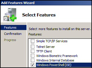 PowerShell 3 ISE in Windows 8 Server