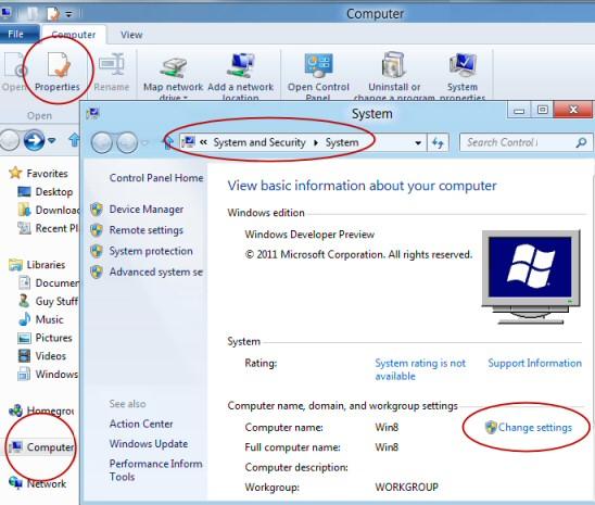 Windows 8 Join Domain