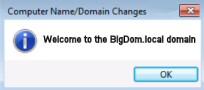 Windows 8 Join Domain Success