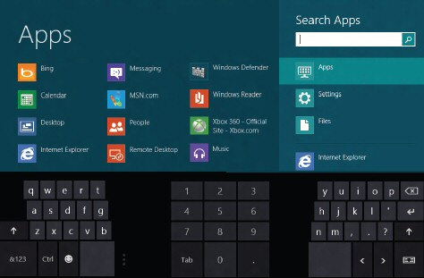 Windows 8 New Keyboard Thumbs