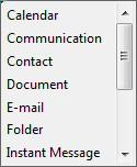Windows 8 Search Folders