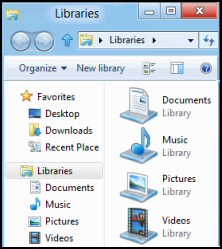 Windows 8 Library