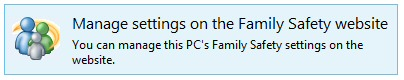 Windows 8 Family Controls
