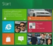 Microsoft Windows 8 Metro UI