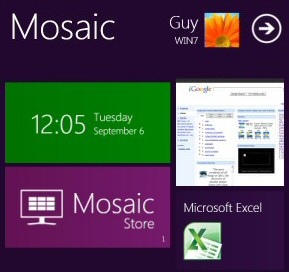 Windows 8 Mosaic Emulator