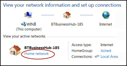Windows 7 Home Network