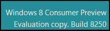 PaintDesktopVersion Display Windows 8 Build 8250