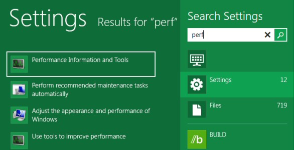 Windows 8 Launch Performance Monitor