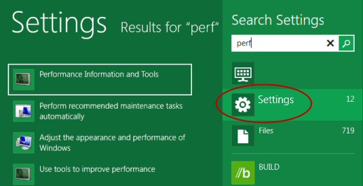 Windows 8 Launch Performance Monitor