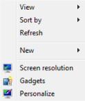 Windows 8 Personalize Recycle Bin