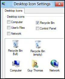 Finding a lost Windows 8 Recycle Bin