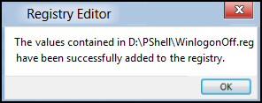 Create a Windows 8 .Reg File