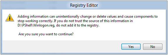 Windows 8 .Reg Files