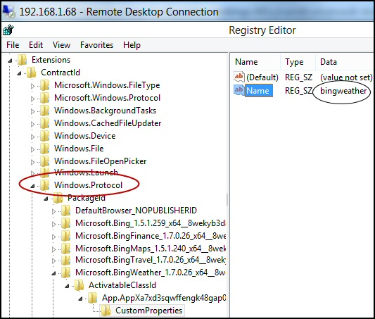 Windows 8 App Shortcut Desktop