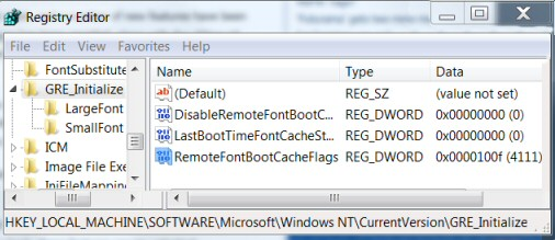 Windows 8 Registry