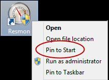 Pin to Start Windows 8