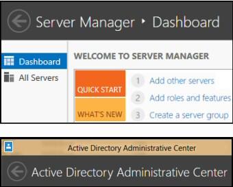 Windows 8 RSAT Server Manager