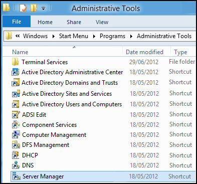 Windows 8 RSAT