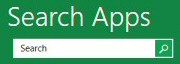 Windows 8 Search Apps