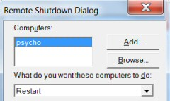 Windows 8 Shutdown command