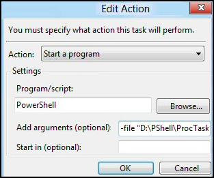 PowerShell Task Scheduler