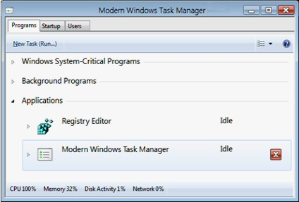 The Modern Windows Task Manager