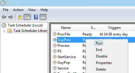 PowerShell Run Task Scheduler