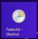 Windows 8 Task Scheduler