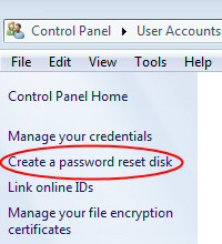 How to Create Windows 7 Password Reset Disk | Solutions for
