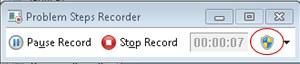 Windows 7 PSR Review Problem Steps Recorder