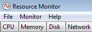 Resmon CPU Memory, Disk, Network