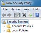 Microsoft's Windows 8 Secpol