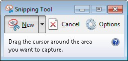 where to find the snipping tool in windows 7