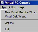 Installing Windows 7 on Microsoft's Virtual PC 2007