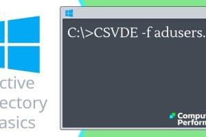 Active Directory Basics_ CSVDE Export User Accounts