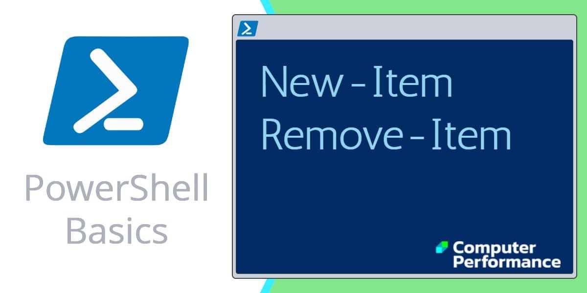 PowerShell Basics_ Using New-Item to create Folders and Files
