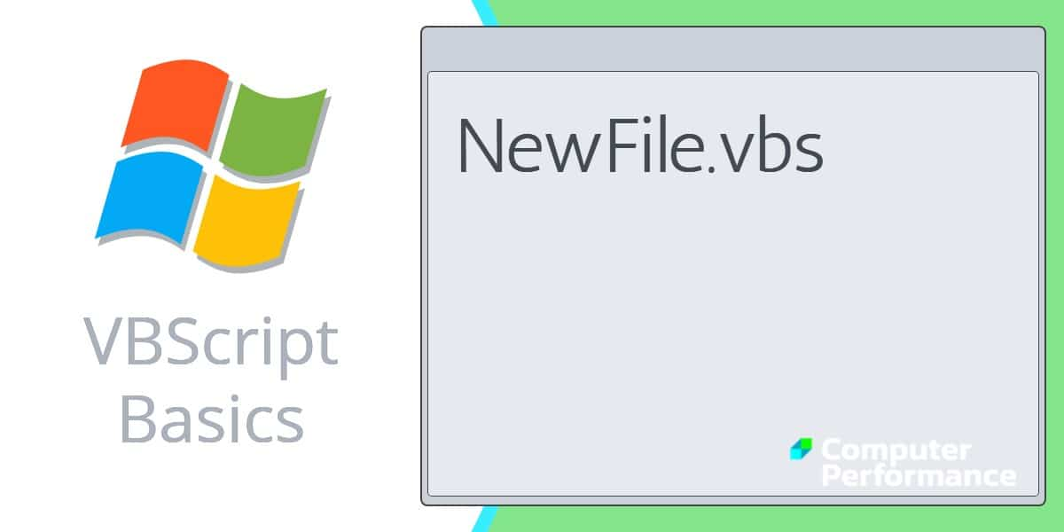 VBScript Basics_ How to Create a File