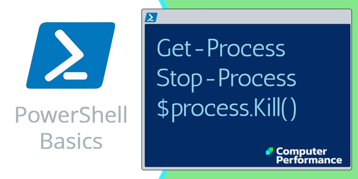 PowerShell Scripting Basics: Kill Process | Stop-Process