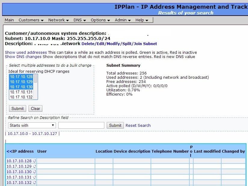 IP plan